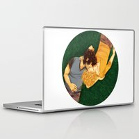 enjolras Laptop & iPad Skins featuring Meadow by deadpokerface