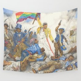 Liberty Leading the People Wall Tapestry