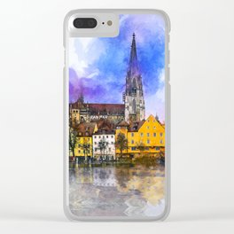 Regensburg Clear iPhone Case