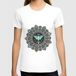 Lunar Moth Mandala T-shirt