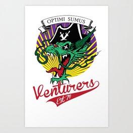 Rivallyn Venturers Art Print