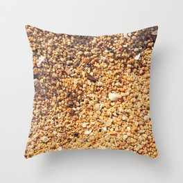 Sand Texture Throw Pillow