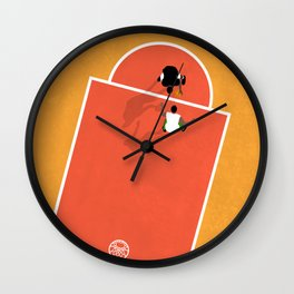 Street Basketball  Wall Clock