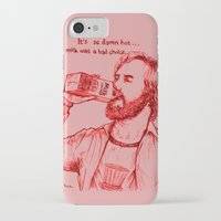 anchorman iPhone & iPod Cases featuring Anchorman: Milk was a Bad Choice by Red Misery