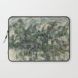 Paul Cézanne - At the Waters Edge - French Postimpressionist Fine Art - Cezanne Laptop Sleeve