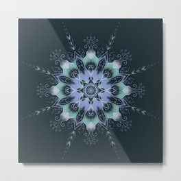 """Dream"" mandala Metal Print"