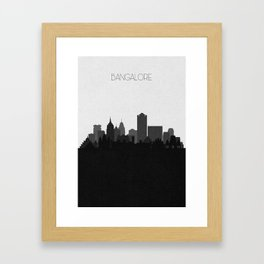 City Skylines: Bangalore Framed Art Print