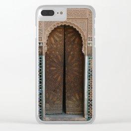 The Door Opens (Ben Youssef) Clear iPhone Case