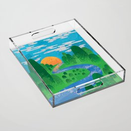 The Valley Acrylic Tray