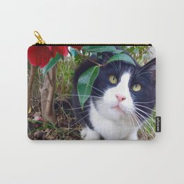 Orazio, the cat of camellias Carry-All Pouch