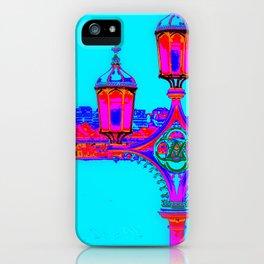 London Lamppost iPhone Case