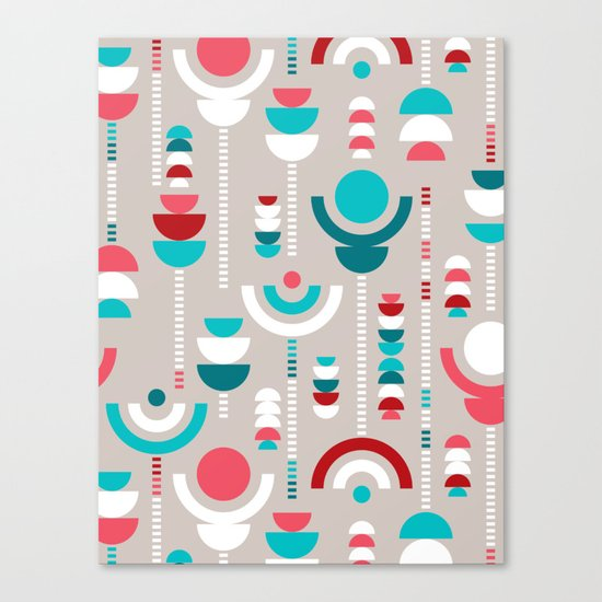 Tulip Tumble Canvas Print