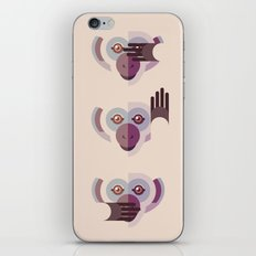 Ignore no evil iPhone & iPod Skin