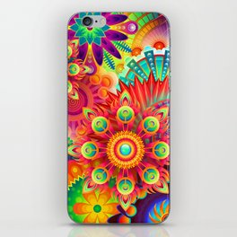 Colrful abstratin. iPhone Skin