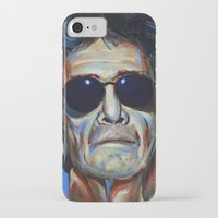 lou reed iPhone & iPod Cases featuring Lou Reed by Buffalo Bonker