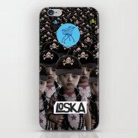 mass effect iPhone & iPod Skins featuring Mass Effect by LOSKA