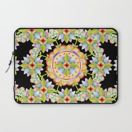 Starflower Mandala Blossoms Laptop Sleeve