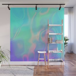 Rainbow Sea Wall Mural