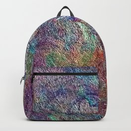 Japanese Handcrafted Dyed Paper Abstract Art Backpack