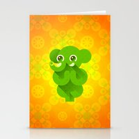 ganesha Stationery Cards featuring Ganesha by Plushedelica