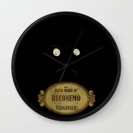 """Bunemo from Black Hole """"O"""" (Virginale) Wall Clock"""