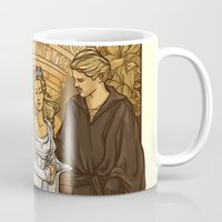 bride Mugs featuring Bride by Karen Hallion Illustrations