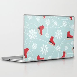 Winter Ice Skating Laptop & iPad Skin
