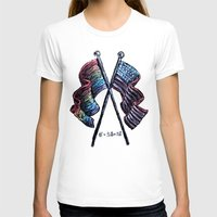 equality T-shirts featuring Equality by Pajamarai Illustrations