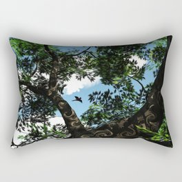 Bird Watching Rectangular Pillow