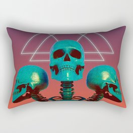 Skelly Belly Rectangular Pillow