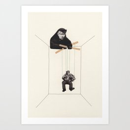 Strings Attached #4 Art Print
