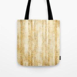 Yellow Moroccan Mosaic Tiles Tote Bag