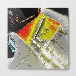 Photon Beam Metal Print