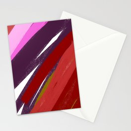 Exoticó wild Ethnic  RED M. Stationery Cards