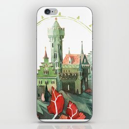 The Green Castle iPhone Skin