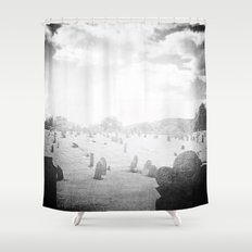 Cimitērium 1680 Shower Curtain