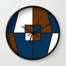 Color Block_Gentleman Wall Clock