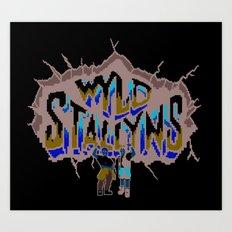 Wyld Stallyns Art Print