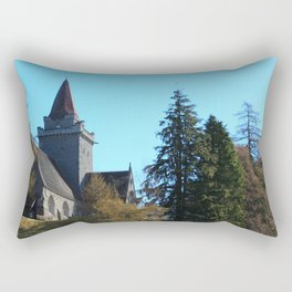 Crathie Church, Balmoral, Scotland Rectangular Pillow