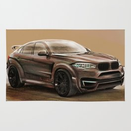 Martian X6 SUV Artrace edition Rug