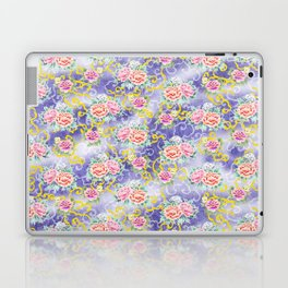 Japanese floral pattern Laptop & iPad Skin