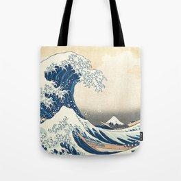 The Great Wave off Kanagawa Tote Bag