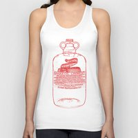 oil Tank Tops featuring snake oil by looseleaf