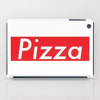 supreme iPad Cases featuring The Supreme Pizza by anthonykun