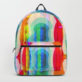Mod Squad Wallpaper Stripe Backpack