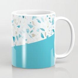 Terrazzo Texture Pacific Light Blue #5 Coffee Mug