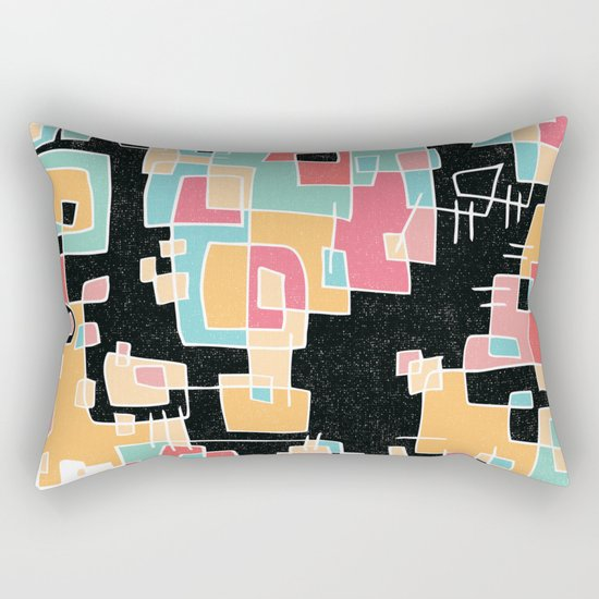 ABSTRACT 2 Rectangular Pillow