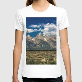 The Grand Tetons - Summer Mountains T-shirt
