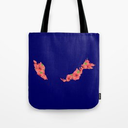 Malaysia in Flowers Tote Bag