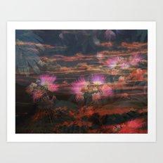 A Smoky Mountain Dream Art Print